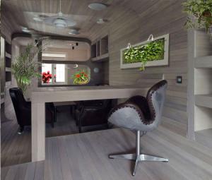 офис с озеленением
