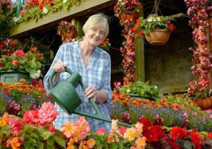 хозяйка цветочного дома